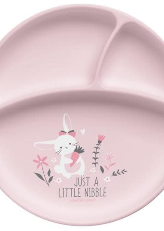 Stephen Joseph Silicone Baby Plate