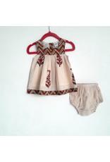 Yo Baby Printed Float Dress w/ Diaper Cover