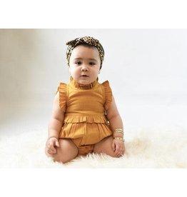 Yo Baby Gold Onesie-3/6M
