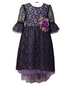Gerson & Gerson Purple Dress