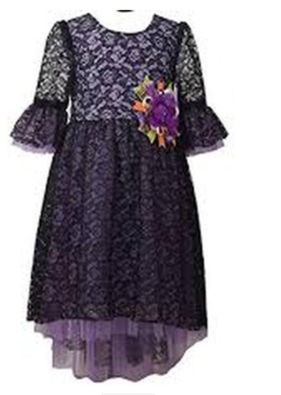 Gerson & Gerson Purple Dress