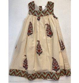 Yo Baby Printed Float Dress-3Y