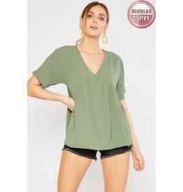 Mittoshop Air Flow Baby Doll Blouse