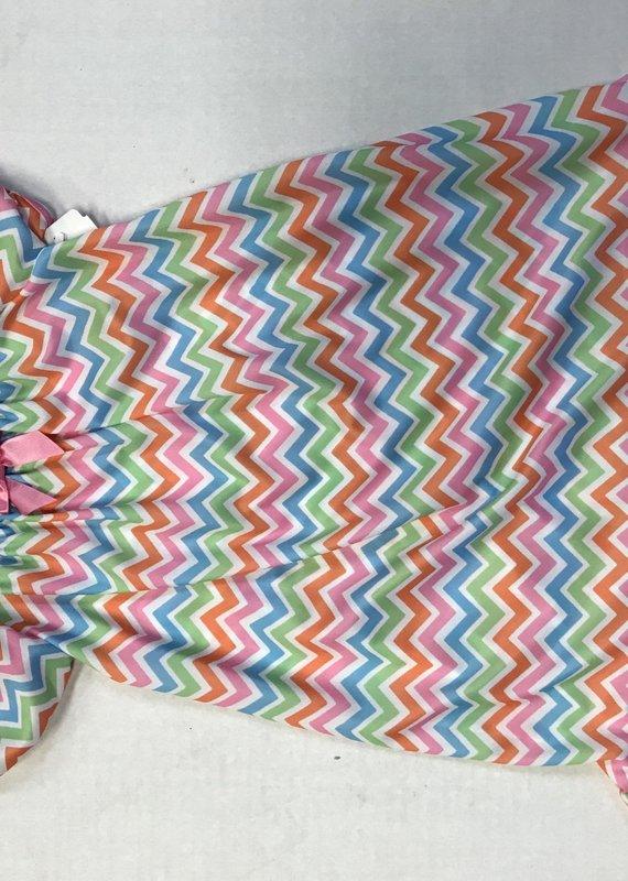 Laura Dare Chevron Sleeping Gown-9M