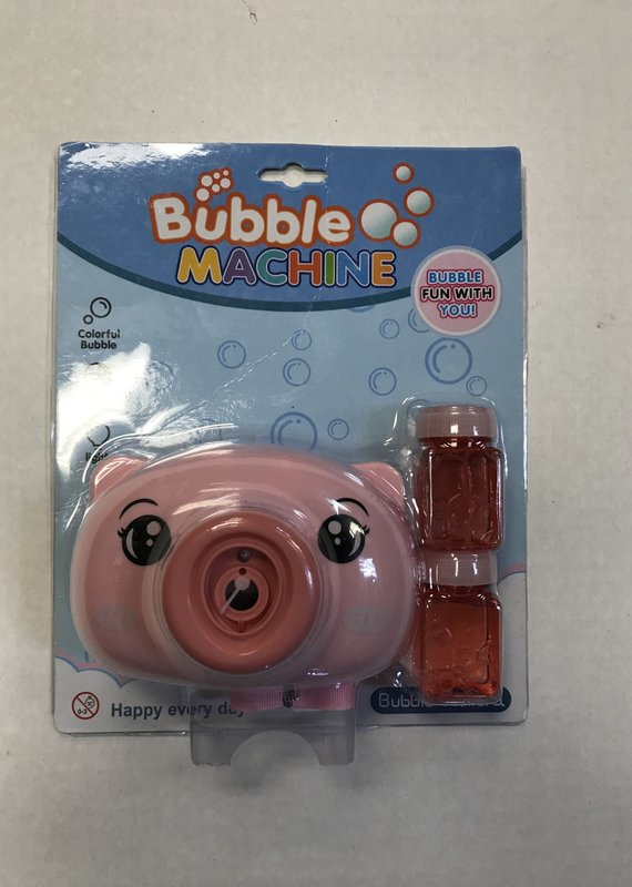 The Burlap Sack Pig Bubble Gun