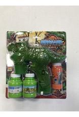 The Burlap Sack Dino Bubble Gun