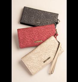 Simply Noelle Luxe Leopard Wallet