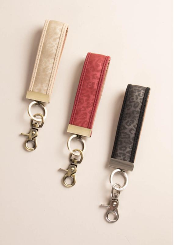 Simply Noelle Luxe Leopard Key Clips