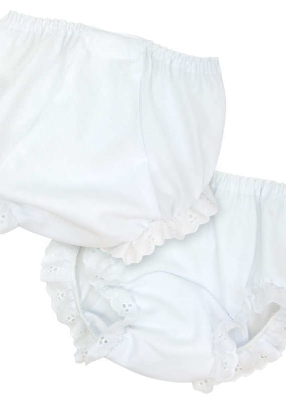 I.C. Collections White Diaper Cover