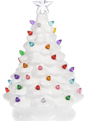 Ganz USA LLC LED White Christmas Tree