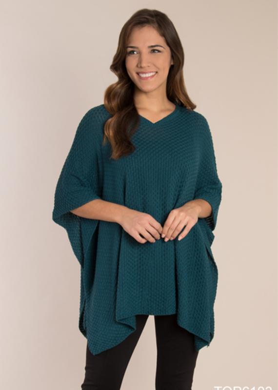 Simply Noelle Open Weave Knit Tunic