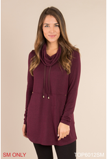 Simply Noelle Cowl Neck Tunic