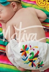 Nativa Embroidered Baby Bloomers-18/24M