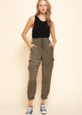 Mittoshop Olive Cargo Pants