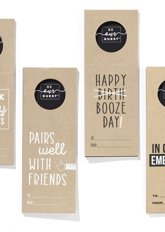 GiftCraft Inc. Paper Bottle Tags