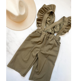 Bailey's Blossoms Sharlyn Ruffle Suspender Pants