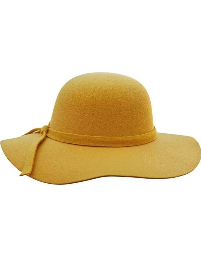 Bailey's Blossoms Audrey Floppy Hat-Mustard