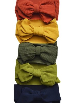 Bailey's Blossoms Messy Bow Headwraps-Infant