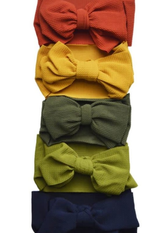 Bailey's Blossoms Messy Bow Headwrap-Toddler