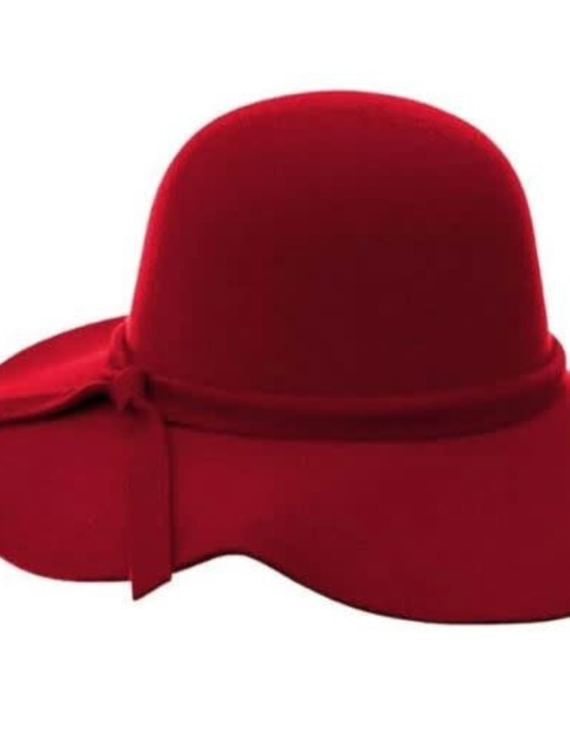 Bailey's Blossoms Audrey Floppy Hat-Red