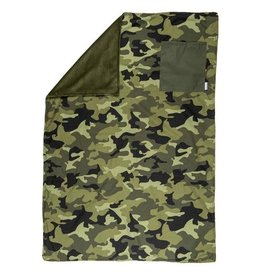 Stephen Joseph All Over Print Camo Blanket