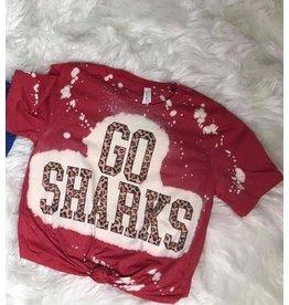 Raining Rustic Youth Go Shark Tees