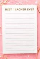 Taylor Elliot Designs Best Teacher Ever Notepad