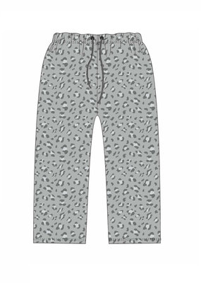 Jane Marie Grey Leopard Pajama Pants