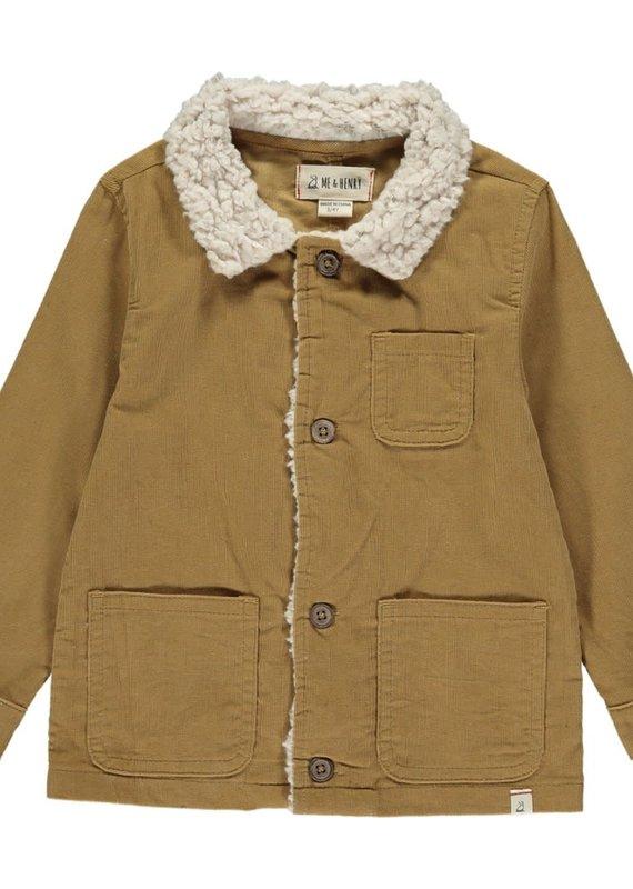 Me & Henry Brown Cord Jacket
