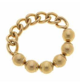 CANVAS Audrey Chain Link Stretch Bracelet