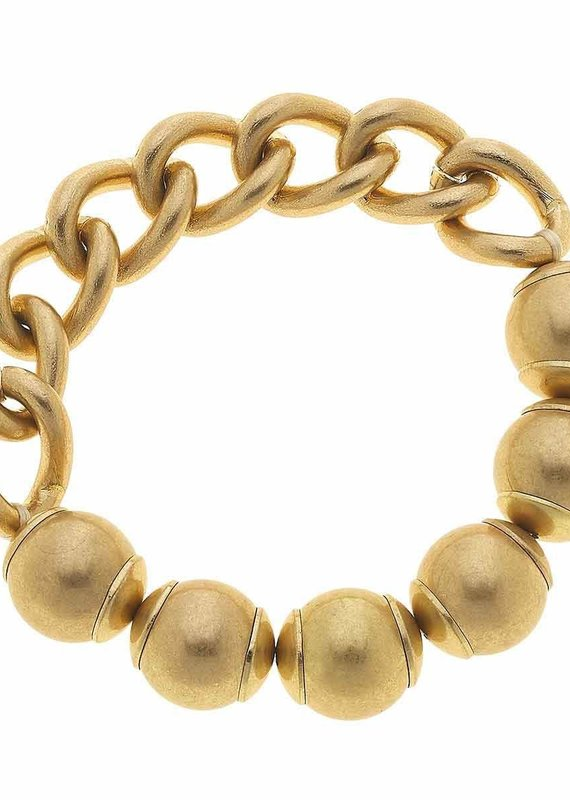 CANVAS Audrey Chain Link Stretch Bracelet