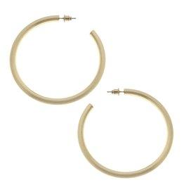 CANVAS Ivy Hoop Earrings