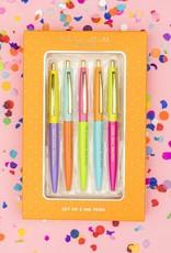 Taylor Elliot Designs Complimentary Colored Pen Set