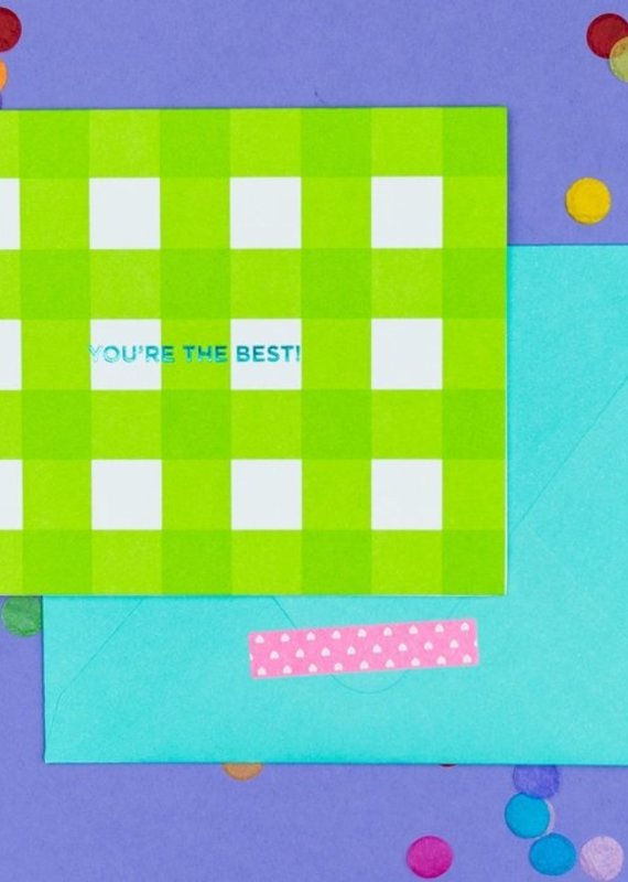 Taylor Elliot Designs You're The Best Note Card Set