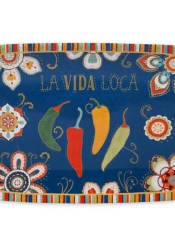 Certified International Corp. La Vida Rectangular Tray