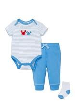 Little Me Crabs Bodysuit w/ Pants Set