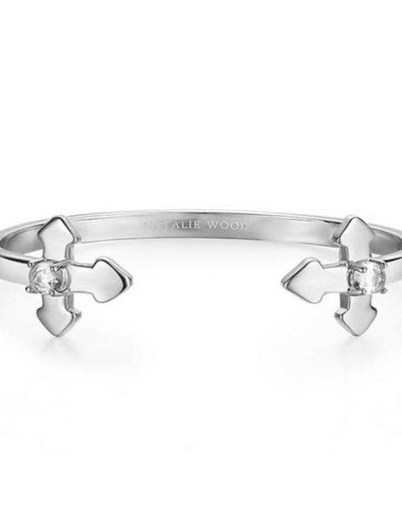 Natalie Wood Designs Believer Cross Cuff Braclet