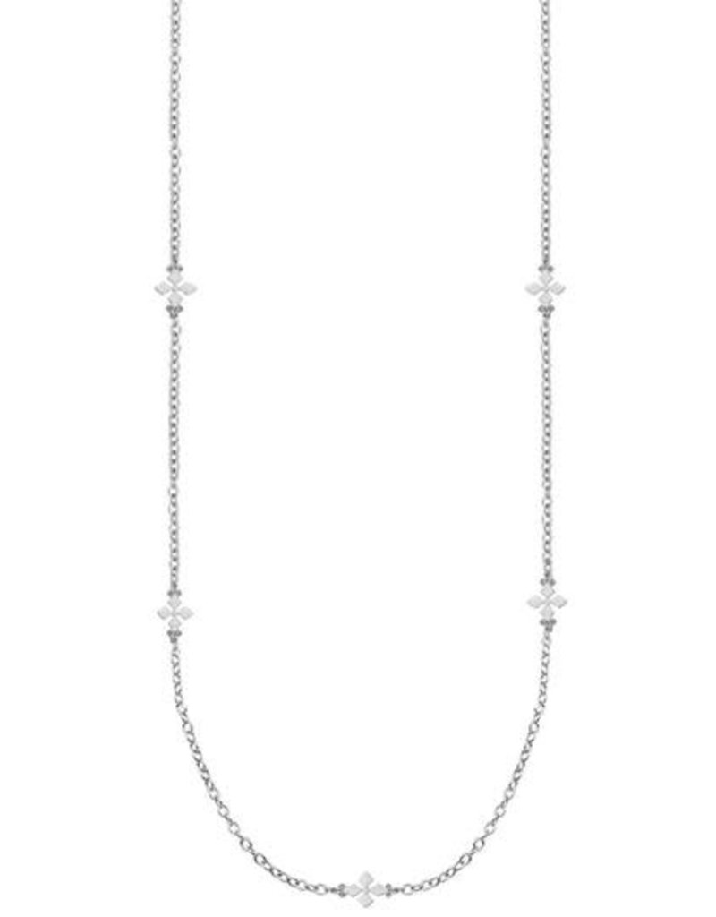 Natalie Wood Designs Believer Cross Station Necklace
