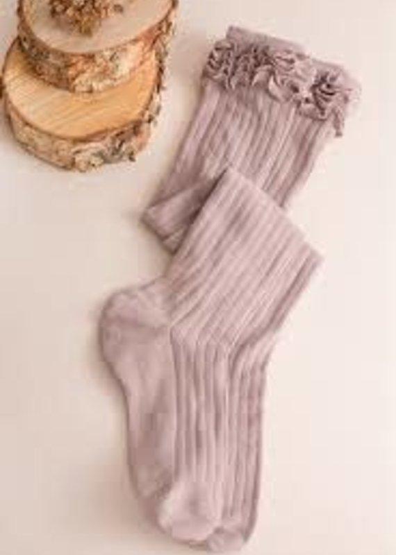 Simply Noelle Noelle Ruffle My Feather Sock