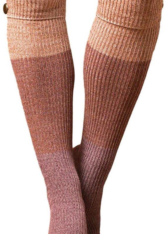 Simply Noelle Northern Lights Tall Socks