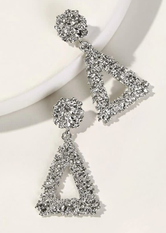 Shein Triangle Drop Earrings