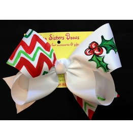 Two Sisters Mistletoe Large Bow