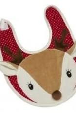 Maison Chic Christmas Deer Bib