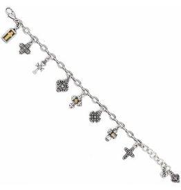 Brighton Eternity Cross Bracelet