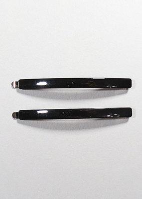 Kenze Penne 2pc Hairclip Set-Black