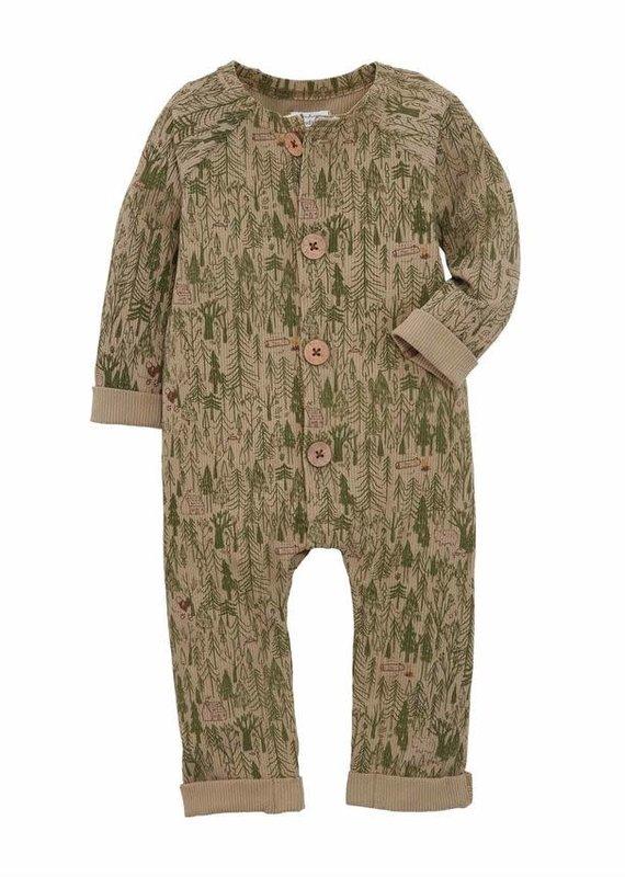 Mud Pie Forest Print Baby Bodysuit-0/3M