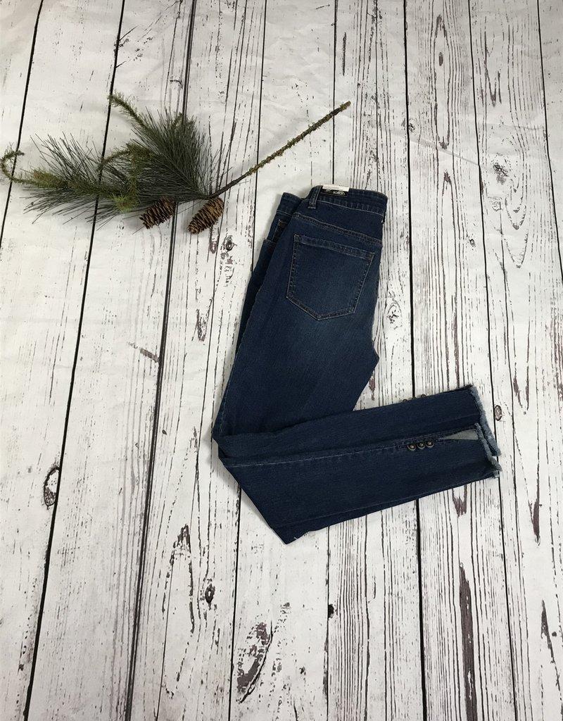 Jerell Clothing Company 5 Pocket Zip Front Jeans