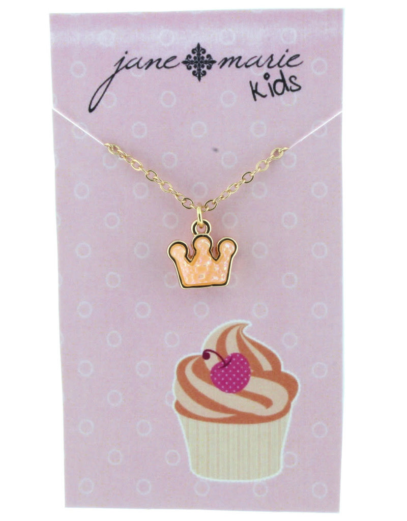Jane Marie Carousel Collection Peach Crown