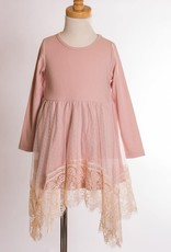 ML Kids Dusty Pink Dress