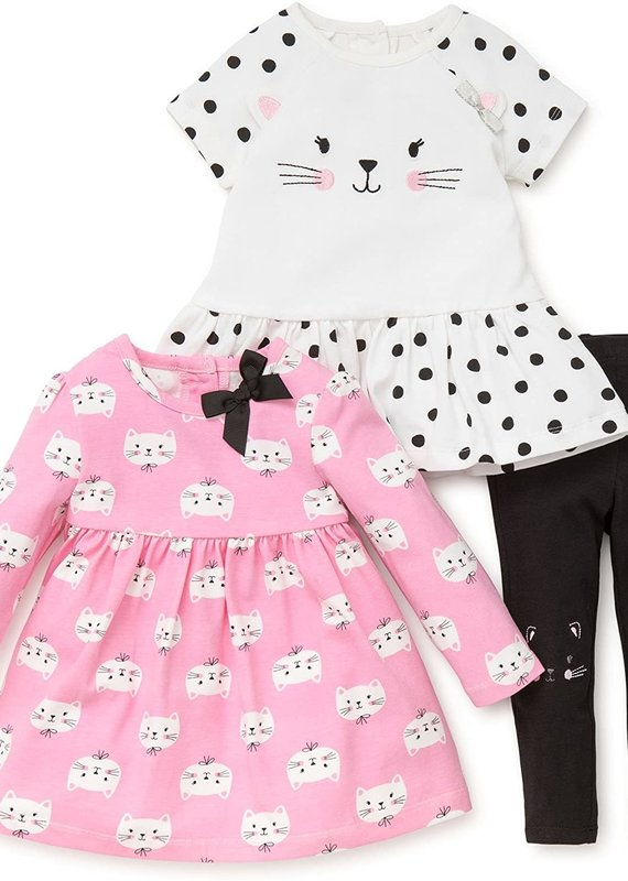 Little Me Kitty 3PC Playset-4T